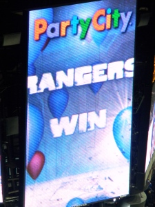 Rangers Win!