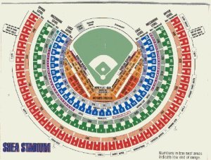 I also memorized the Shea diagram. Though I sat in them in later years, and I decided to never ever sit in Upper Deck that year