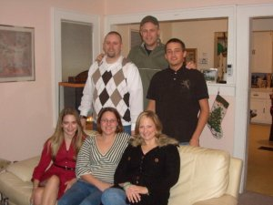 Christmas Time, 2007. One of the last times all the cousins were in the same room.