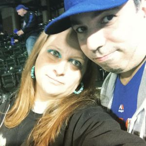 The Mets have brought me a lot of heartache over the years, but they've also brought me such great happiness, along with my partner in crime